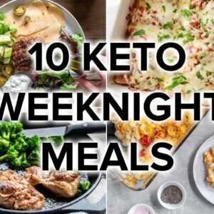 10 Easy Keto Dinner Meals for Busy Weeknights