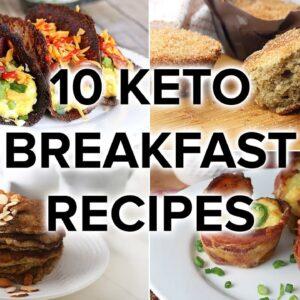 10 Keto Breakfast Recipes that AREN'T Just Eggs