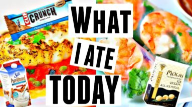What I Ate Today for Weight Loss | Full Day of Pescatarian Eating + Smartphone GIVEAWAY!!