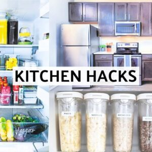 NEW APARTMENT KITCHEN TOUR 2019 | What I Eat, Healthy Foods + How I Organize