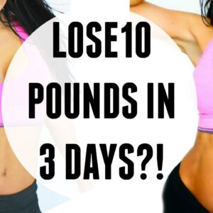 HOW TO LOSE 10 POUNDS IN 3 DAYS | Military Diet, Does it work?