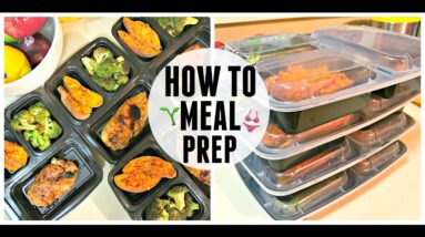 How To Meal Prep for Beginners | Meal Prep Monday