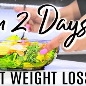 What I Eat In A Day to Lose Weight FAST | 2 FULL Days of Eating