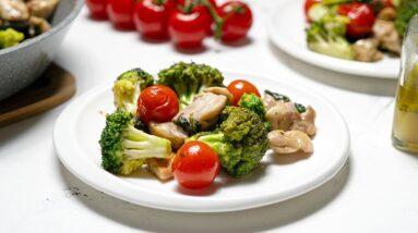 Keto Italian Chicken Skillet Recipe [Ready in 20 Minutes]