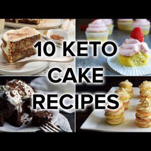 10 Keto Cake Recipes to Crush Your Sugar Cravings