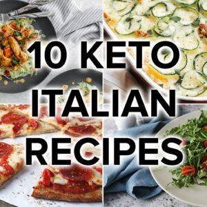 10 Keto Italian Food Recipes [Pasta, Pizza, and Dessert]