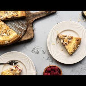 Keto Coffee Cake Recipe [Raspberry Cream Cheese]