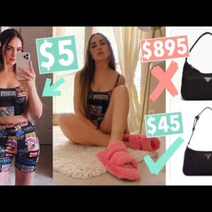 How to look trendy & cute on a budget | Tips for saving money & putting together outfits!