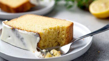 Keto Pound Cake Recipe [with Icing Glaze]