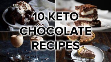 10 Keto Chocolate Recipes [Rich, Gooey, & Satisfying]