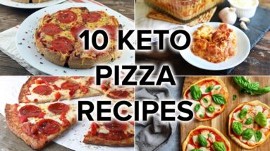 10 Low Carb & Keto Pizza Recipes [Perfect for Any Meal]